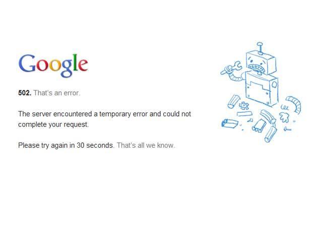 Usuários que entraram no Gmail receberam este aviso (Reprodução)