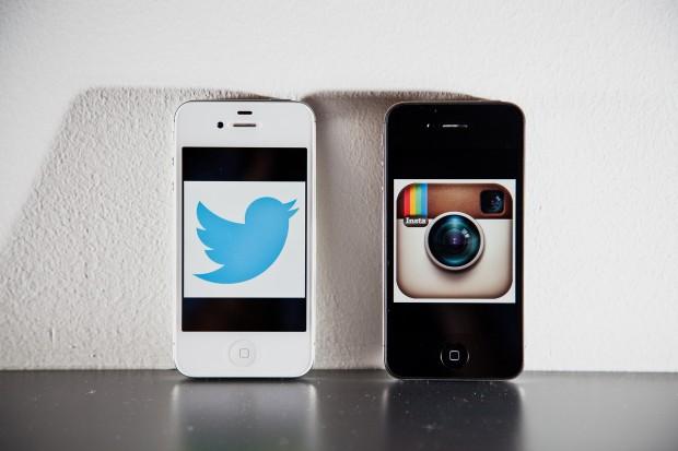 Instagram tem quase um milhão a mais de usuários que Twitter (Reprodução)