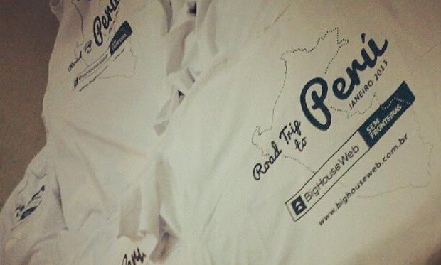 Camisetas Road trip to Peru BigHouseWeb