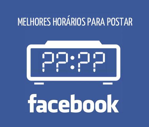 Melhor horário para postar no Facebook em 2013