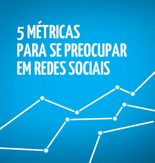 5 métricas para redes sociais