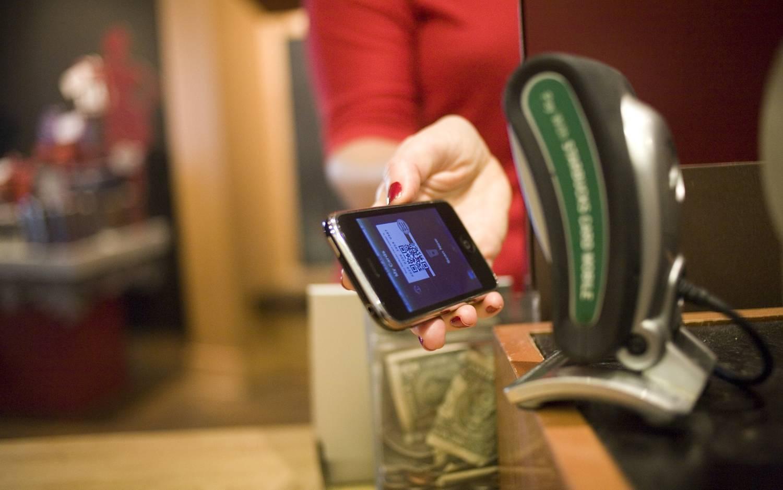 O pagamento mobile é realizado através de transações feitas por digitalização, na qual o aparelho é utilizado através do toque ou leitura digital para comprar no ponto de venda.