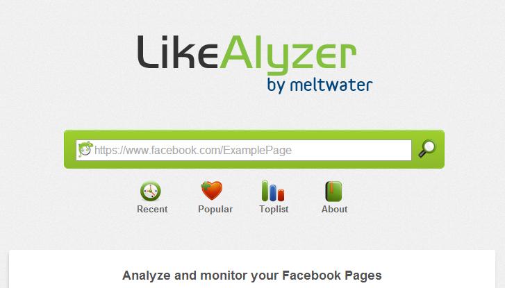 Like Analyzer, ótima ferramenta para analisar a concorrência no Facebook.