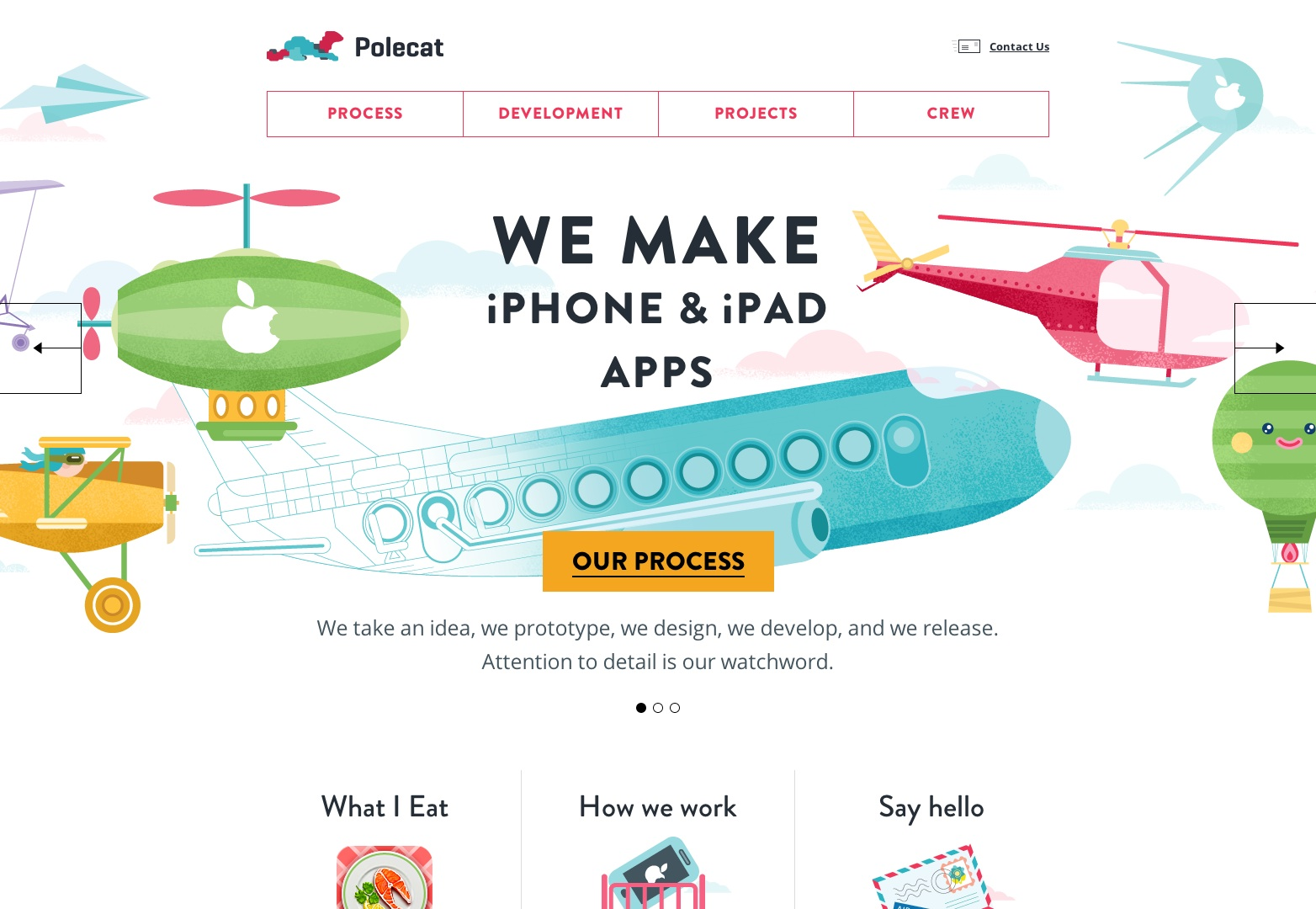 Custom iPhone and iPad apps development | Polecat agency