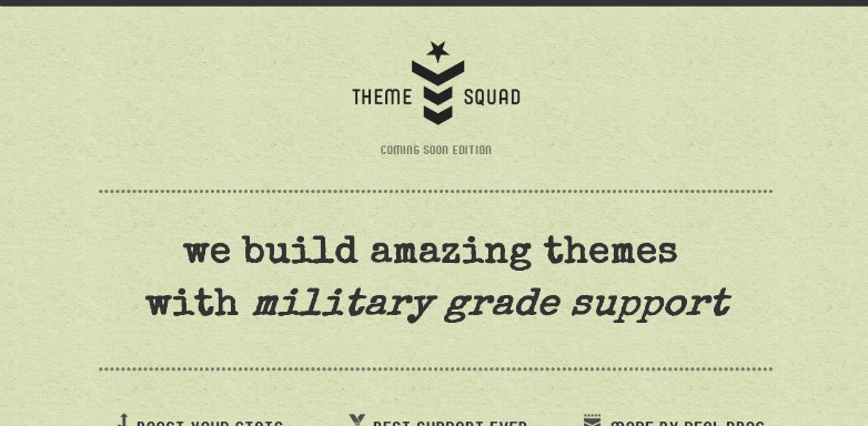 7. Theme Squad