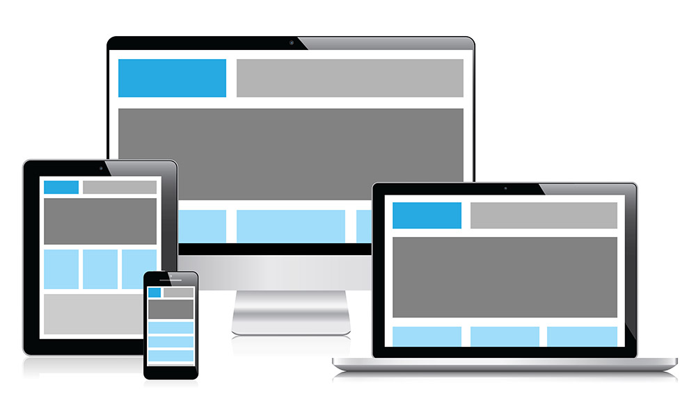 Exemplo de web design responsivo