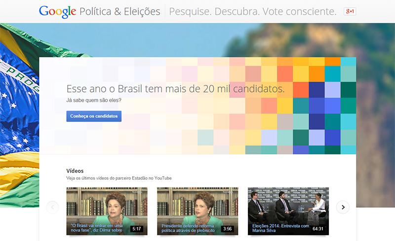 Conheça o Google Eleições 2014!
