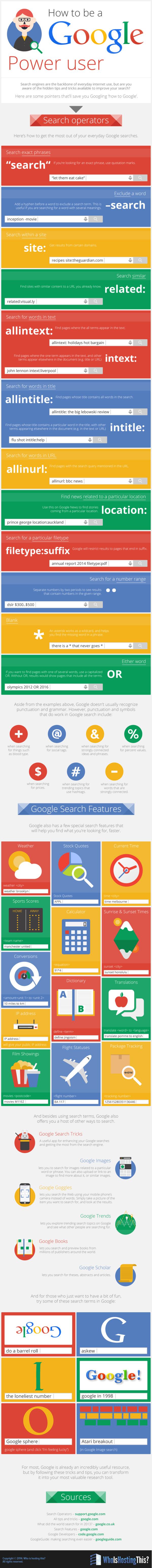 Dicas para você usar melhor o Google!