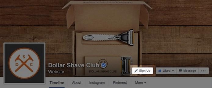 """Páginas do Facebook poderão adicionar botões de ação ao lado do """"curtir"""""""