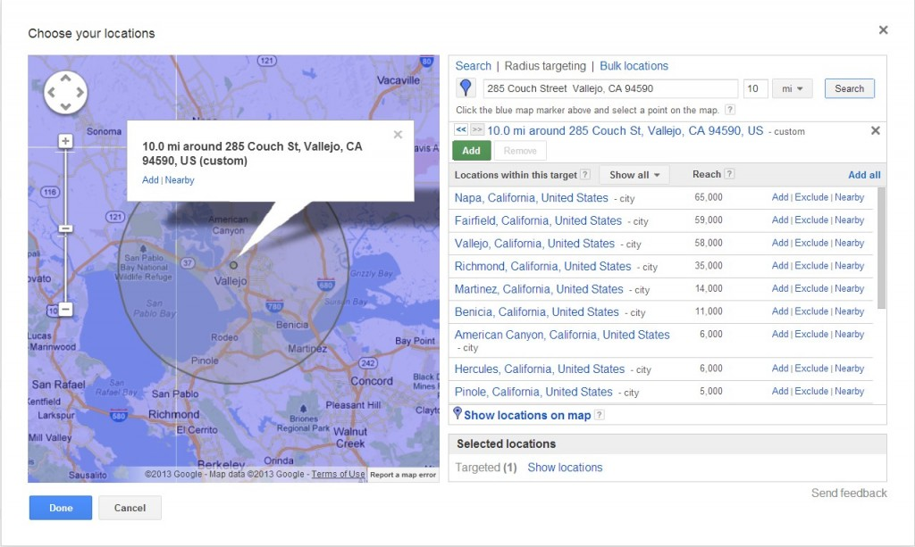 Utilizar geolocalização é fundamental para campanha de Google AdWords de baixo orçamento