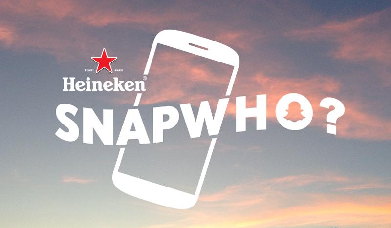 Marcas no Snapchat: Heineken