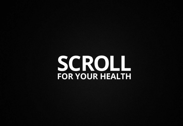 3. Scroll for your health